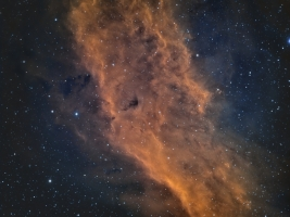 96. The California Nebula in HST